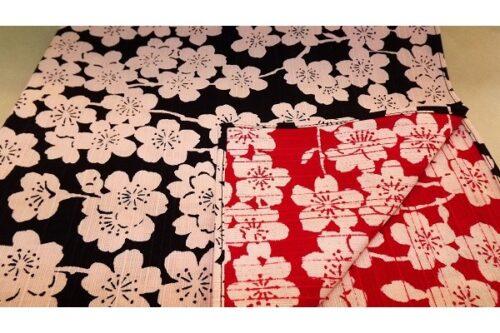 Furoshiki Sakura darkblue/red 48 cm 6