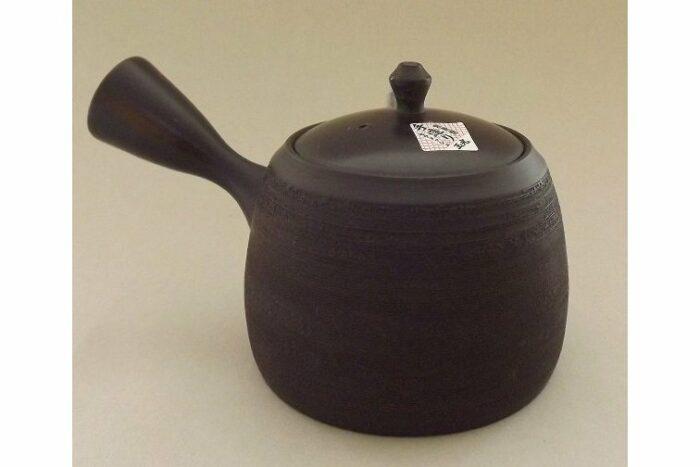 Teekanne Kyusu Kuro geschabt 365 ml 2