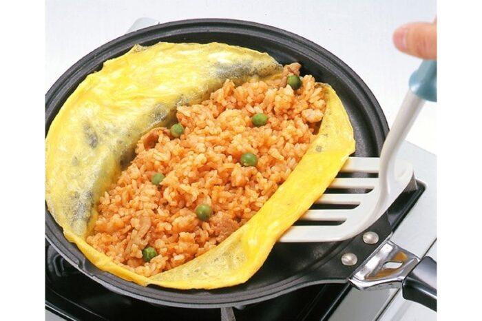 Spezial Omelette-Pfanne für Omuraisu / nur für Gas 1