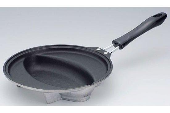 spezial omelette pfanne f r omuraisu nur f r induktion nagomi japanische lebensart. Black Bedroom Furniture Sets. Home Design Ideas