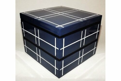 Bento-Box / Jubako Mizu Indigo 9