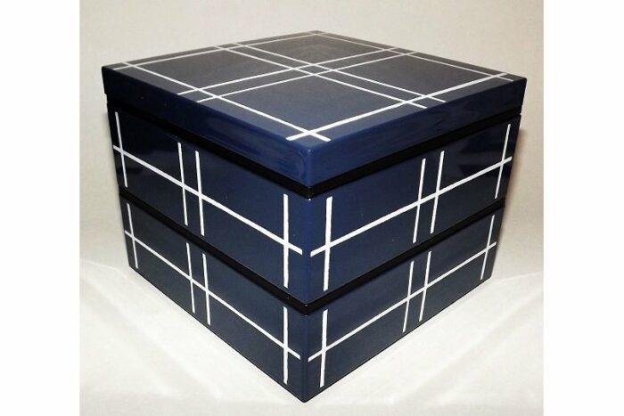 Bento-Box / Jubako Mizu Indigo 1