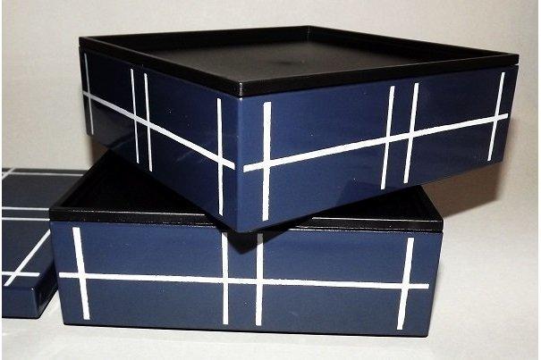 Bento-Box / Jubako Mizu Indigo 3