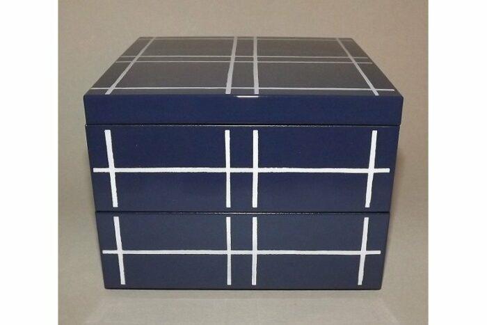 Bento-Box / Jubako Mizu Indigo 6