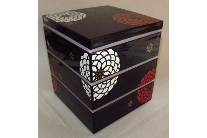 Bento-Box / Jubako Ojyu Black 1