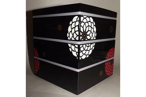 Bento-Box / Jubako Ojyu Black 2