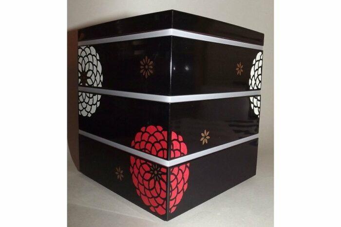Bento-Box / Jubako Ojyu Black 3