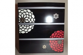 Bento-Box / Jubako Ojyu Black 13