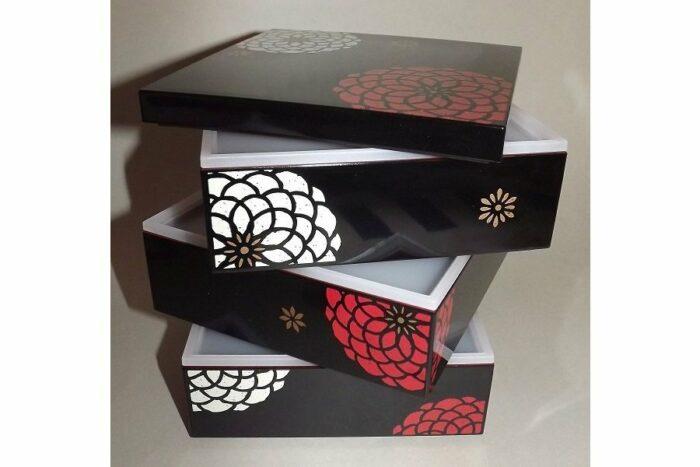 Bento-Box / Jubako Ojyu Black 4