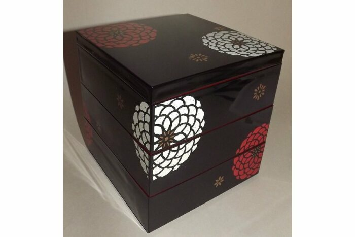 Bento-Box / Jubako Ojyu Black 5