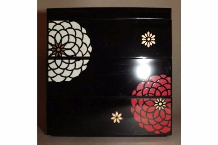 Bento-Box / Jubako Ojyu Black 6