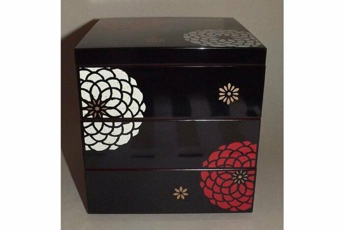 Bento-Box / Jubako Ojyu Black 7