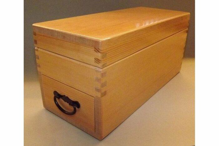 "HQ Katsubako Kezuriki ""L"" Takumi / Bonitohobel Holz mit Wechselklinge / Handarbeit 1"