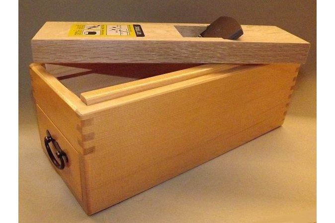 "HQ Katsubako Kezuriki ""L"" Takumi / Bonitohobel Holz mit Wechselklinge / Handarbeit 5"