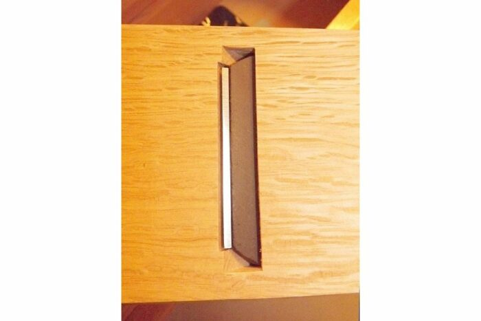 "HQ Katsubako Kezuriki ""L"" Takumi / Bonitohobel Holz mit Wechselklinge / Handarbeit 3"