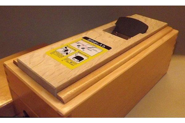 "HQ Katsubako Kezuriki ""L"" Takumi / Bonitohobel Holz mit Wechselklinge / Handarbeit 6"