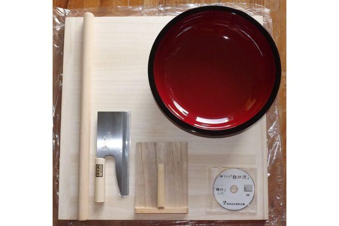 Noodle-Set zur Herstellung von japanischen Nudeln 1