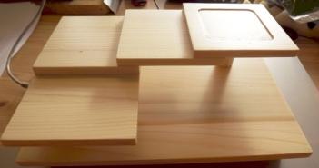 Sushi-Etagere aus Holz 6