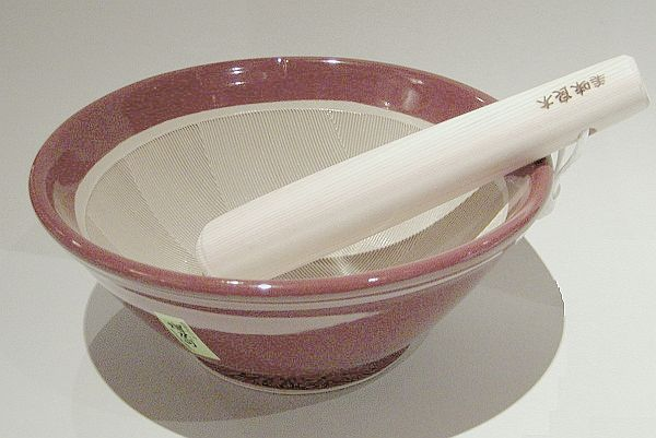 Suribachi 18 cm mit Surikogi 1