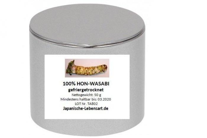 Hon Wasabi / 100% Wasabi-Pulver 50 g 1