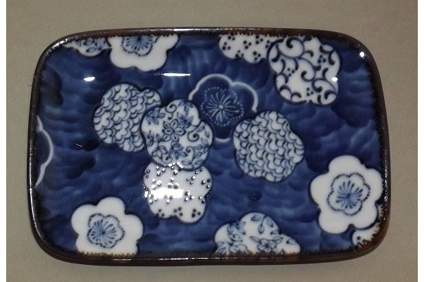 Teller-/Platte Ume Kamon 16.5 cm 2