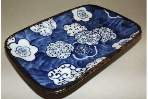 Teller-/Platte Ume Kamon 16.5 cm 15