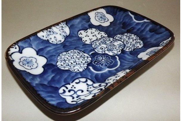 Teller-/Platte Ume Kamon 16.5 cm 1
