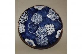 Teller-Set Ume Kamon   Sushi-/Platte und Dip-/Tellerchen 9
