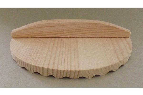 HQ Otoshibuta Sugi 20 cm Topf-/+Innen-Deckel 1