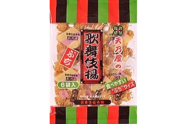 Amanoya Hitokuchi Mini Kabukiage 6 x 20g = 120g 1