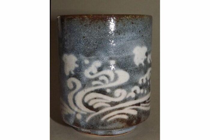 Keramikbecher Nezumi Shino 1