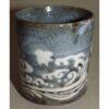 Keramikbecher Nezumi Shino 4