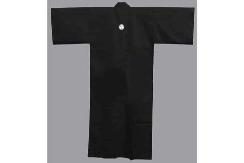 """Kimono Mon kuro 59"""" 4"""
