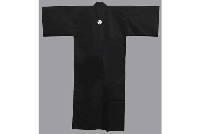 """Kimono Mon kuro 59"""" 1"""