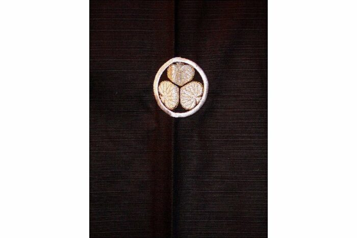 """Kimono Mon kuro 59"""" 2"""