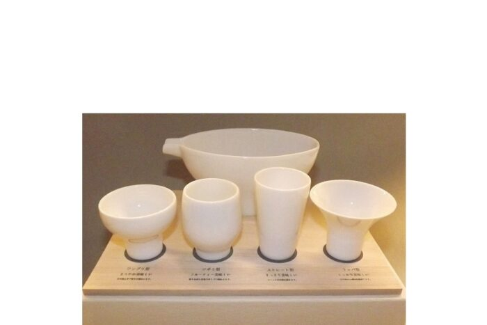 Ginomishu shiro 5 tlg. Geschmackstest-Set in Präsentbox 1