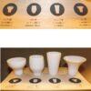 Ginomishu shiro 5 tlg. Geschmackstest-Set in Präsentbox 3