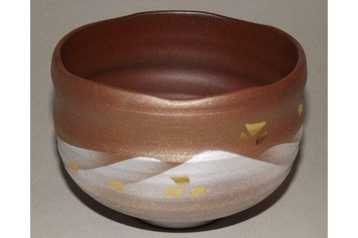 Matchawan Renzan in Holzbox - Kutaniyaki 1