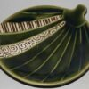 Keramik Platte-Teller Oribe Uchiwa 3