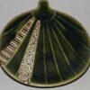 Keramik Platte-Teller Oribe Uchiwa 2