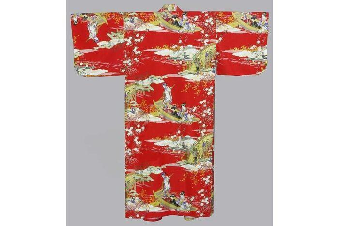 Kimono Ukiyoe aka 55' 1