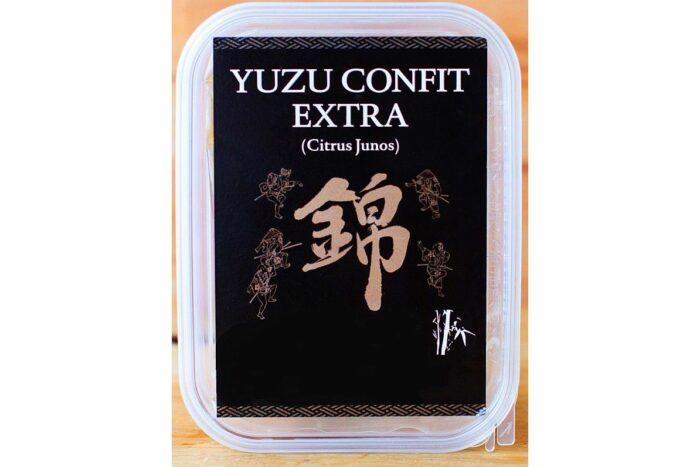 Kitagawa Yuzu in Streifen kandiert 1 kg in Sirup 1