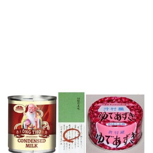 "Kakigori Topping-Set ""Classic"" 3 tlg. 12"