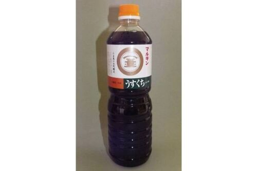 Shoyu Usukuchi 1000 ml Morita 2
