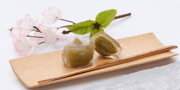 Mini Kudzu-Mochi Matcha 3 x 25g Murasakim 1