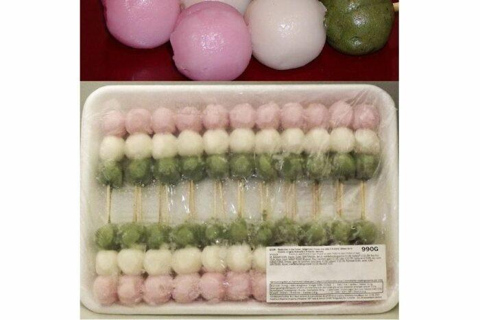 Sanshoku-Dango (Shiratama) 22 Spieße à 45 g = 990 g Minato 1