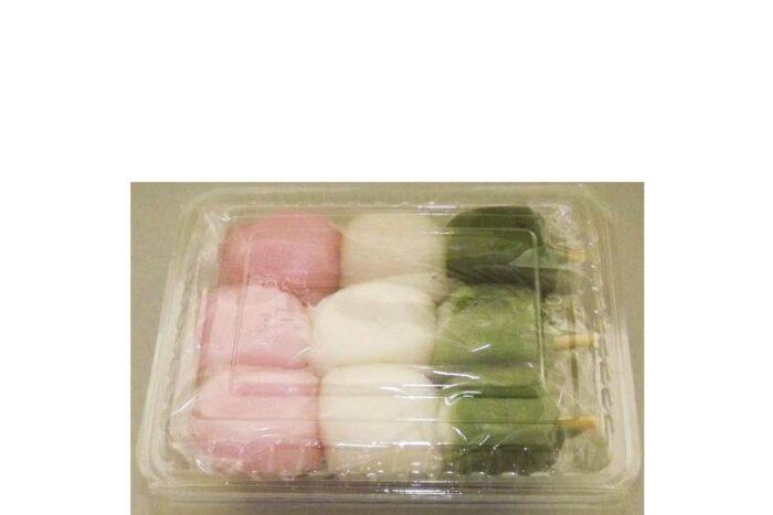Sanshoku-Dango (Shiratama) 3 Spieße à 45 g = 135 g Minato 1