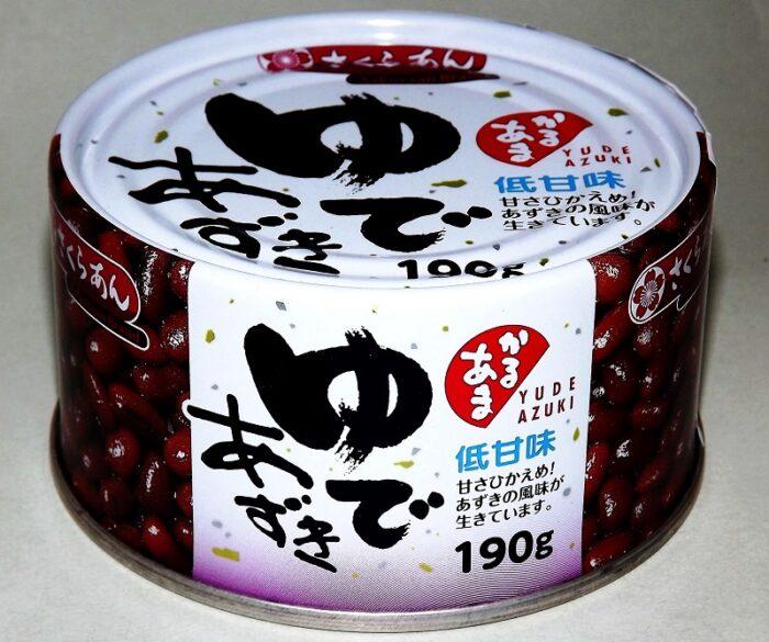 Yude Azuki 190g Tanio Shokuryo 1