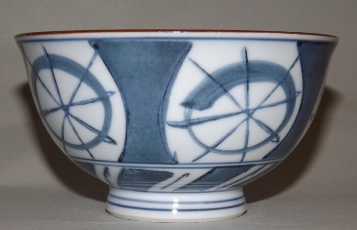 Keramik-Set 5 Bowls Dento-Tekina in Box 11