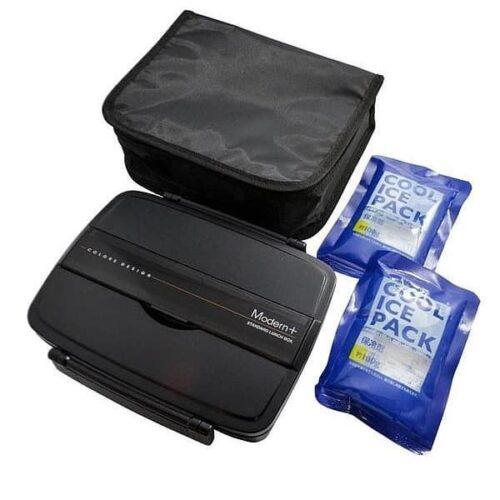 Bento-Box Shikiri mit isolierender Kühltasche + 2 Akkus 1